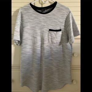 Men's Woven Pullover Shirt